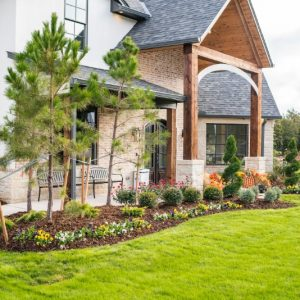 residential home landscaping in Edmond OK