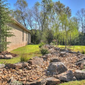 nelson landscaping dry creek bed