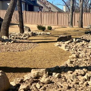 Backyard Hardscaping with Boulders