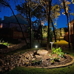 Nelson Landscaping Residential Home Lighting Services