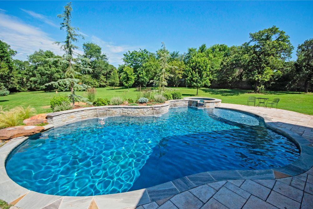 Peaceful Backyard Pool
