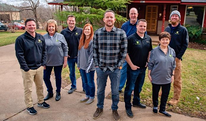 Nelson Landscaping Team