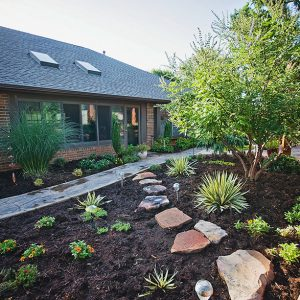 Backyard Hardscaping, lighting and irrigation