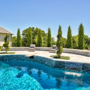 OKC Custom Pool with Landscaping