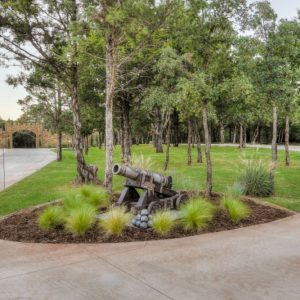 Hardscaping and sidewalk landscaping