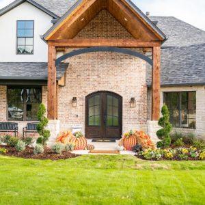 Front Yard residential landscape design