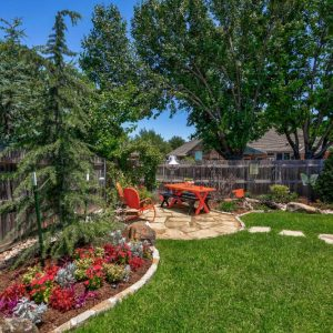 large tree landscaping, Hardscaping, & Walkway