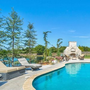 Beautiful Oklahoma City Pool Landscaping
