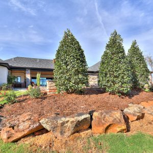 Backyard Landscaping & Boulder Hardscaping