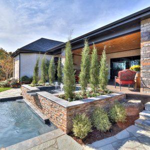 Backyard Pool Landscaping Plantings