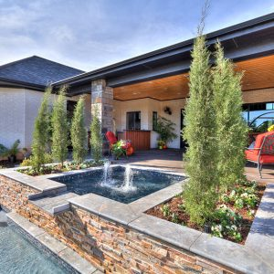 Backyard Pool Landscaping modern home design