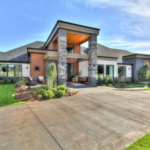 Front of House Modern Landscaping
