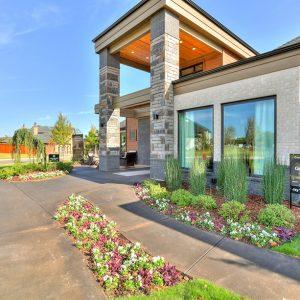 Front Yard Modern Landscaping