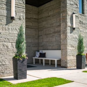 Front Entrance Landscaping designed for the Street of Dreams by Matteson Homes