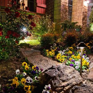 Littlejohn House Dry Creek Bed Landscaping
