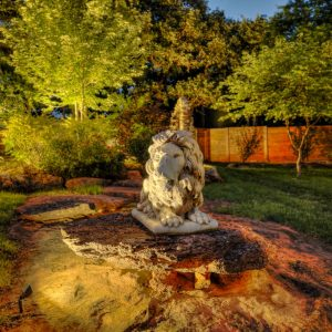 Landscaping with Hardscaping & Lighting