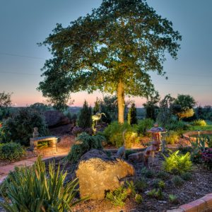 Landscape Lighting & Hardscaping