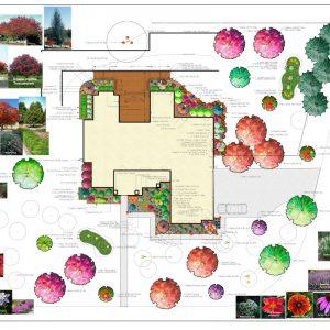 Nelson Landscaping residential landscaping plans for Edmond OK home.