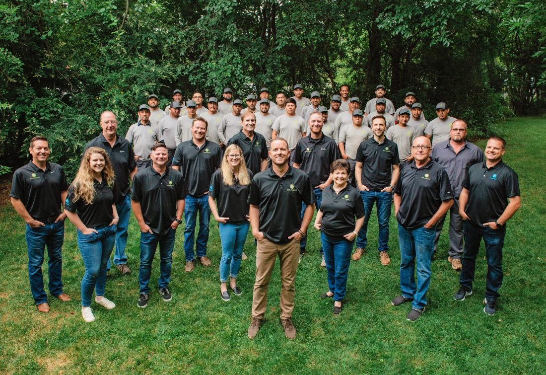 Nelson Landscaping Team Photo