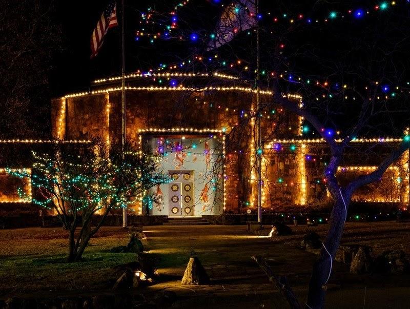 Woolarac Wonderland of Lights - Bartlesville, OK