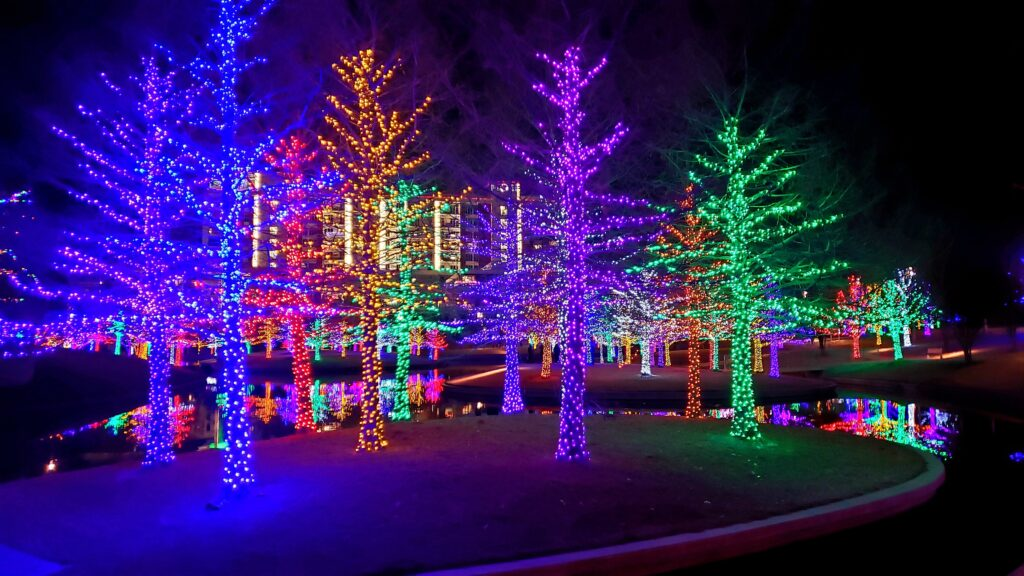 Best Christmas Lights in Oklahoma 2020